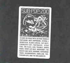 VARIOUS ARTISTS - SUB POP 200 NEW CD
