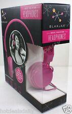 PINK COMFORT HEADPHONES NOISE ISOLATION COMPATIBLE MP3 MP4 IPAD 3.5MM