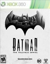 Batman The Telltale Series Season Pass (Xbox 360) SHIPS NO CASE NO ART UNUSED