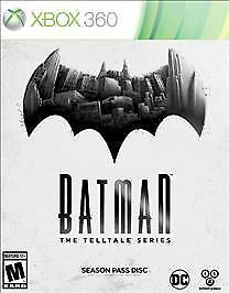 Batman: The Telltale Series -- Season Pass Disc (Microsoft Xbox 360, 2016)