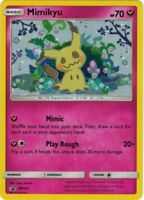 Mimikyu SM163 Holo Promo Card (Pokemon Sun & Moon Team Up)
