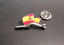 Porsche Pin Silhuette Flagge Spanien 28x15mm limitierte Auflage