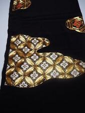 @@Vintage/Japanese tomesode kimono silk fabric/ embroidery L386