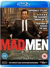 Mad Men : Season 3 (Blu-ray, 2010, 3-Disc Set)