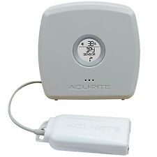 AcuRite 06064M Room Temperature & Humidity Monitor with Water Leak Detector