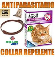 COLLAR ANTIPARASITARIO NATURAL GATO Pulgas Garrapatas Repelente gatos D202 50286