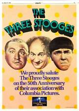 TARZAN review and THREE STOOGES color ad in DAILY VARIETY March 19, 1984 issue