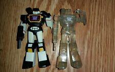 !SALE!  Transformers cassettes hoc/sfc RARE g1 Soundblaster with clear soundwave