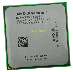 AMD Phenom X4 9650 HD9650WCJ4BGH 4 Core 2.3 GHz 95W Socket AM2+ CPU Processors