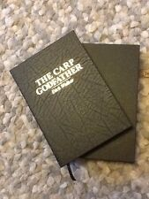 Signed X2 Leatherbound The Carp Godfather Dick Walker Fishing Book 40/44 Unread
