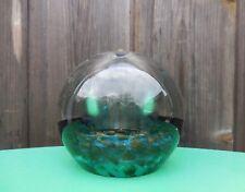 Ancienne lampe Berger en verre avec inclusion d' or (10cm diamètre)
