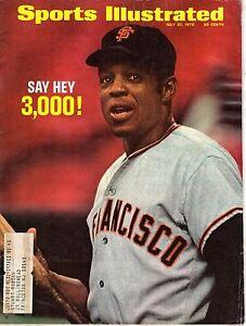 1970 Sports Illustrated baseball magazine Willie Mays, San Francisco Giants FAIR
