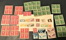 CANAL ZONE Panama Stamps Mint & Used & Overprints! Blocks SON cancels airmails!