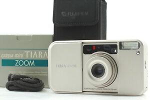 【 UNUSED in BOX 】 Fuji Fujifilm Tiara Zoom Point & Shoot Film Camera Japan #642