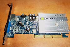 Tarjeta grafica NVidia Geforce MX4000 128MB AGP VGA TV  NV MX4000 128MB-L DDR TV