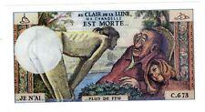 PUBLICITé ADVERTISING VOLTAIRE EROTIQUE au Clair de la Lune CHANDELLE EST MORTE