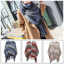 Ladies Women Winter Warm Scarf Knitted Shawl Wrap Long Soft Scarves Extra Thick