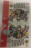 2006 Upper Deck Rookie Debut Factory Sealed Football Hobby Box