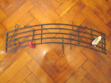 Vintage French 50s musical notes wall hooks