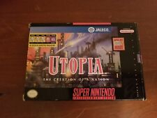Utopia: The Creation of a Nation (Super Nintendo Entertainment System) Box Only