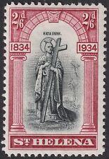 St Helena 1934 KGV 2sh6d Black and Lake Mint SG121 cat £50
