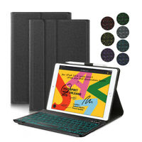 AU For iPad 7th Gen 10.2 2019 Backlit Bluetooth Smart Keyboard Stand Cover Case