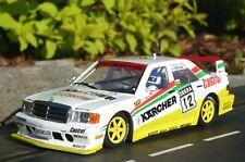 SLOT it MERCEDES 190E Team Kärcher in 1:32 auch für Carrera Evolution    SICA44B
