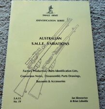 Australian S.M.L.E.  Rifles Variations Collector  Book 48pg