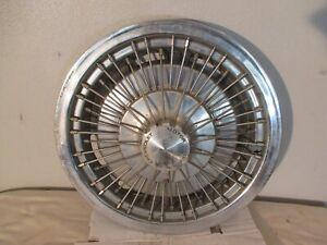 "1971-1975 Chevrolet Monza, Vega 14"" Wire Wheel Hub Cap"