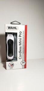 WAHL Cordless Mini Pro Haircut & Trim Clippers 14 pcs kit brand new.