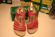 "Birkenstock Betula ""IRIS"" Berry Women's Sandals size 10 NIB"