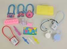 Mixed Lot Barbie Fashion Doll Accessories Cassette Player Boom Box Camera Watch