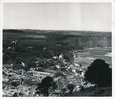 FÉCAMP c. 1938 - Panorama sur la Ville Falaises Seine Maritime - Div 10069