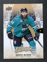 2016-17 Upper Deck MVP #160 Brent Burns - NM-MT