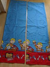 Bob der Baumeister Vorhänge (ca.193 cm lang, 119,5 cm breit) neuwertig