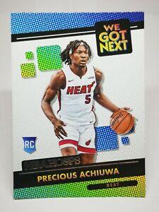 Panini Hoops 2020-21 N19 card NBA RC We Got Next #20 Precious Achiuwa Miami Heat