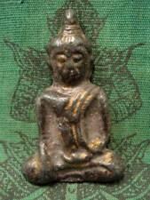 Authong Buddha Khmer Ancient Talisman Antique Buddhist Spiritual Thai Amulet