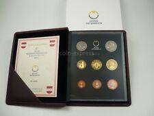 *** EURO KMS ÖSTERREICH 2011 PP Polierte Platte Kursmünzensatz Austria Coin Set