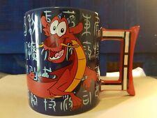 DISNEY PARKS MULAN - MUSHU The Dragon COFFEE - TEA MUG WDW RESORT NEW With Tags