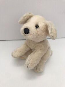 "Russ ROVER Golden Lab Retriever Puppy Dog 9"" Plush Bean Bag Stuffed Animal"
