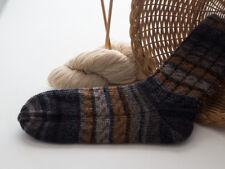 dicke Socken, Wolle, handgestrickt, Gr. 44/45