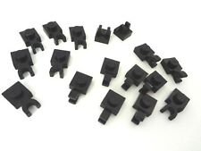 LEGO Black 1X1 Plate Modified with Clip  Lot/17