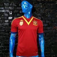 Spain Team Jersey Home football shirt 2013 - 2014 Adidas X53272 Mens Size M