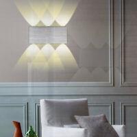 12W Lampe Murale LED Moderne Aluminium LED Applique Interieur Éclairage Mural
