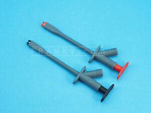 Insulated Long Reach Plunger Grabbers (Black+Red)