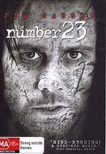 THE NUMBER 23 Jim Carrey DVD R4 - PAL - New