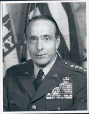 1957 US Army General Lyman Lemnitzer Portrait Press Photo