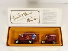 Corgi Die Cast Transport of the 30's Thornycroft & Ford Model T Delivery Vans