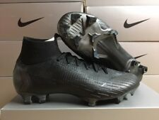 NEW Nike Men's Mercurial Superfly 6 Elite FG Soccer Cleats Black/Black Size: 10