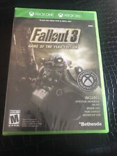 Fallout 3 Game of the Year Edition Xbox One/Xbox 360 Brand New